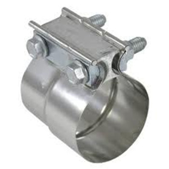"6"" Preformed Polished Stainless Steel Exhaust Seal Clamp PF-6SSP"