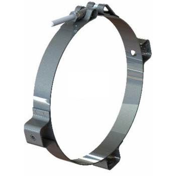 "4"" Chrome Heat Shield Bracket PG-4CBRKT"