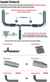 "6"" Peterbilt 379 Retro fit - Complete Kit (PRK-6)"