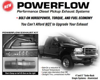 """Ford 1994-97 73L 4"""" Aluminized Kit"""
