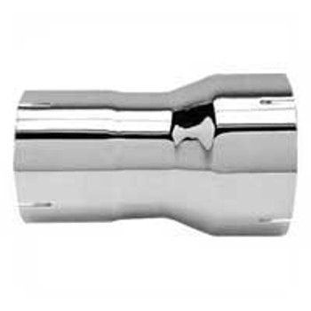"""R7I-5IC 7"""" ID to 5"""" ID Exhaust Reducer Chrome"""