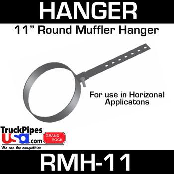 """11"""" Round Muffler Hanger RMH-11"""