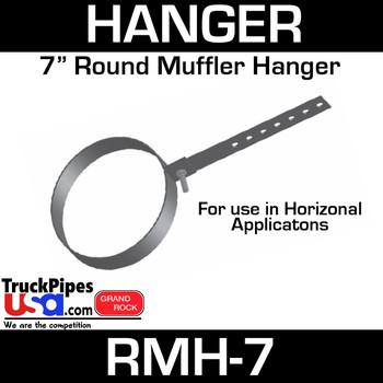 """7"""" Round Muffler Hanger RMH-7"""