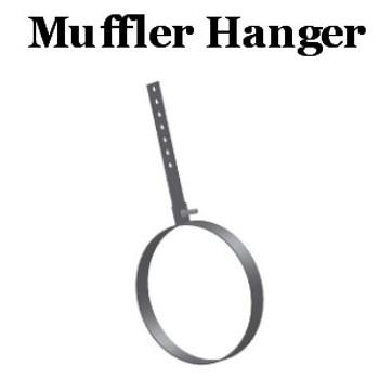 """RMH-9 9"""" Round Muffler Hanger"""