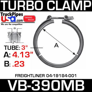 A04-19184-001 4 Cyl V-Band Turbo Clamp VB-390MB