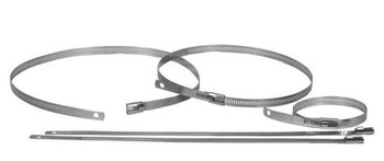 "HC-18SS Heat Wrap Clamps 18"" Stainless Steel 2 pieces HC-18SS"