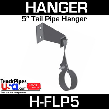 "5"" Tail Pipe Hanger with angles H-FLP5"