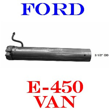 "SB2-A212FT-S4 7C2Z-5A212-KA or SB2-A212FT-S4 Ford E450 3.5"" OD Tube"