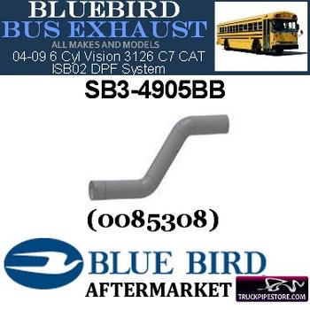 "SB3-4905BB 4"" 2 Bend Bluebird Bus Exhaust ID-OD ALZ"