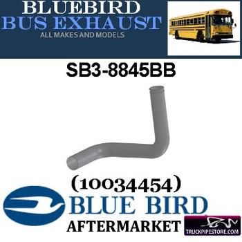 "SB3-8845BB 3"" 2 Bend Bluebird Bus Exhaust OD Flange ALZ"