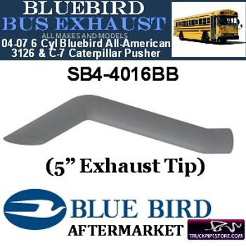 "SB4-4016BB 5"" 2 Bend Bluebird Bus Exhaust OD Miter ALZ"