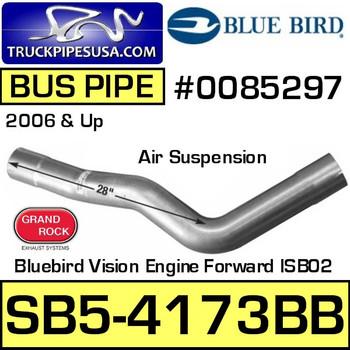 0085297 Bluebird All American Bus Pipe Air Suspension SB5-4173BB