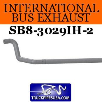 "SB8-3029IH-2 1610299C3 2pc International Bus Pipe 3 Bend 4"" OD-OD End ALZ"