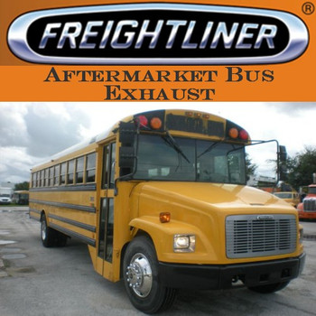 "SB4-0013FL 4"" Freightliner Bus Exhaust 2 Bend with Miter OD-OD"