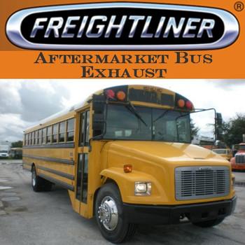 "SB5-5475FL SB5-5475FL 4"" x 51"" Freightliner Bus Straight Stack Pipe ID-OD ALZ"