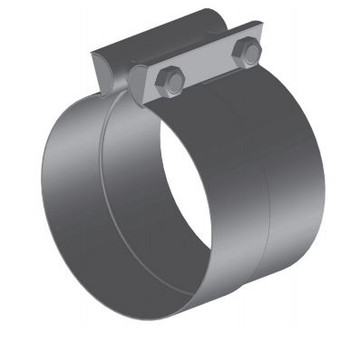 "PF-3ABT 3"" Preformed Aluminized Butt Joint Exhaust Clamp"