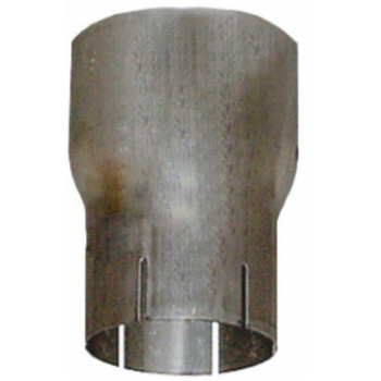 "5"" OD to 3.5"" ID Reducer Aluminized Exhaust Pipe R5O-35IA"