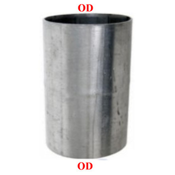 "3"" x 8"" Aluminized Exhaust Connector OD-OD S3-8SBA"