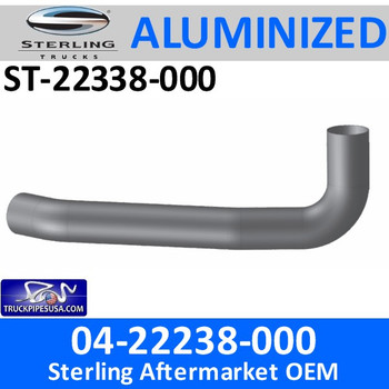 ST-22338-000 04-22338-000 Sterling Exhaust Turbo Pipe ST-22338-000 - SPECIAL ORDER