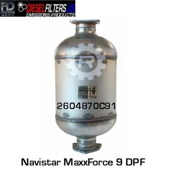 2604870C91/RED 52962 2604870C91 Navistar MaxxForce 9 DPF (RED 52962)