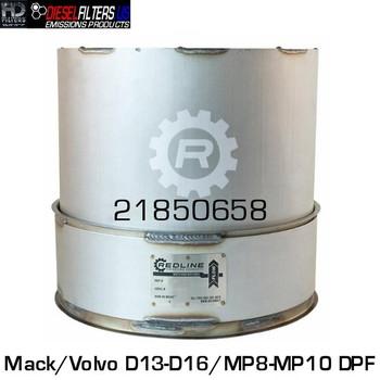 21850658 Mack/Volvo D13/D16/MP8/MP10 DPF (RED 52945)