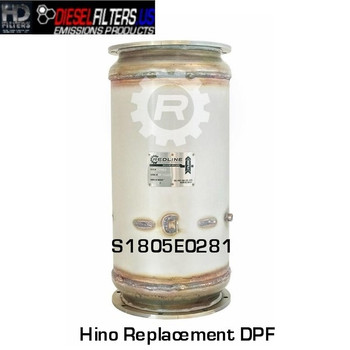 S1805E0281 Hino Replacement DPF/DOC Combo (RED 52983)