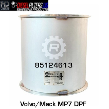 85124613 Mack/Volvo MP7 DPF (RED 52975)