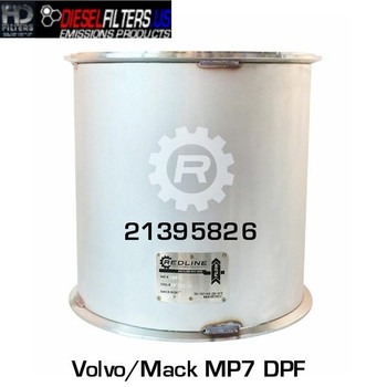 21395826/RED 52975 21395826 Mack/Volvo MP7 DPF (RED 52975)