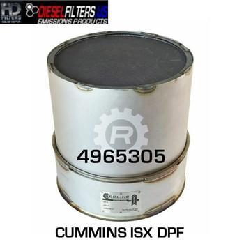 4965305 Cummins ISX DPF (RED 52944)