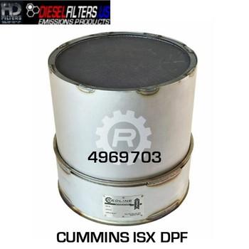 4969703 Cummins ISX DPF (RED 52944)