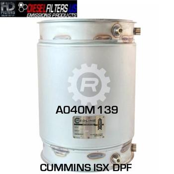A040M139 Cummins ISX DPF (RED 52973)