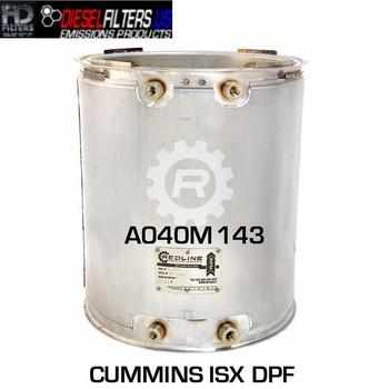 A040M143 Cummins ISX DPF (RED 52984)