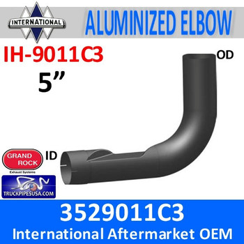 3529011C3 International Exhaust Elbow IH-9011C3