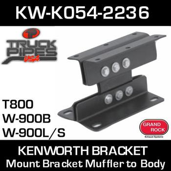 KW-K054-2236 Kenworth Mount Bracket Muffler to Body K054-2236
