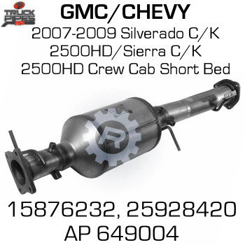 25928420 Chevrolet/GMC 2500 HD DPF (RED 46804)