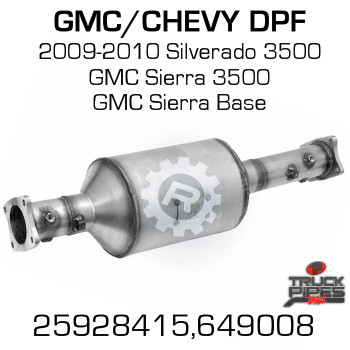 25928415 Chevrolet/GMC 3500 HD DPF (RED 46808)