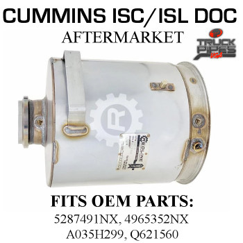 5287491NX Cummins ISC/ISL Diesel Oxidation Catalyst 58816