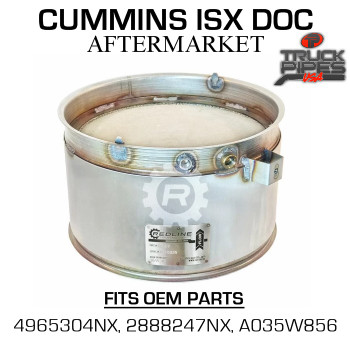 4965304NX Cummins ISX Diesel Oxidation Catalyst 58807