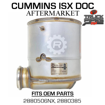 2880506NX Cummins ISX Diesel Oxidation Catalyst 58815