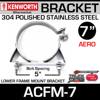 "7"" Lower Frame Mounting Bracket for Kenworth Aerocab ACFM-7"