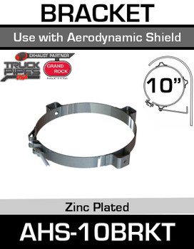 AHS-10BRKT 10 inch Bracket Aero Heat Shield