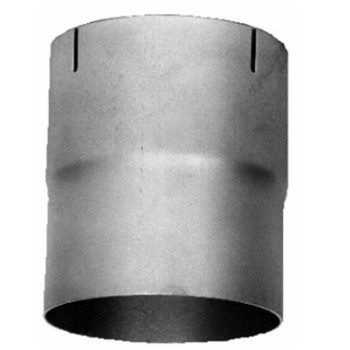 "3.5"" x 6"" Exhaust Coupler/Connector ID-OD Aluminized CN-356A"