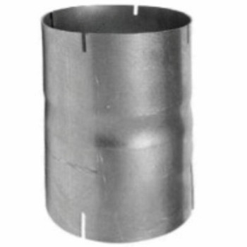 """6"""" Exhaust Coupler ID-ID Aluminized CP-68A"""
