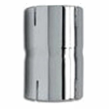 "7"" Chrome Exhaust Pipe Coupler ID-ID CP-78C"