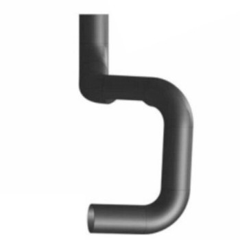 F2HZ-5A212C Ford L LNT LTS Exhaust Elbow for Muffler Inlet FT212C
