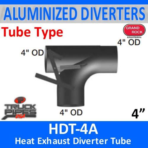 "HDT-4A 2 Position 4"" Heat Exhaust Diverter Tube"