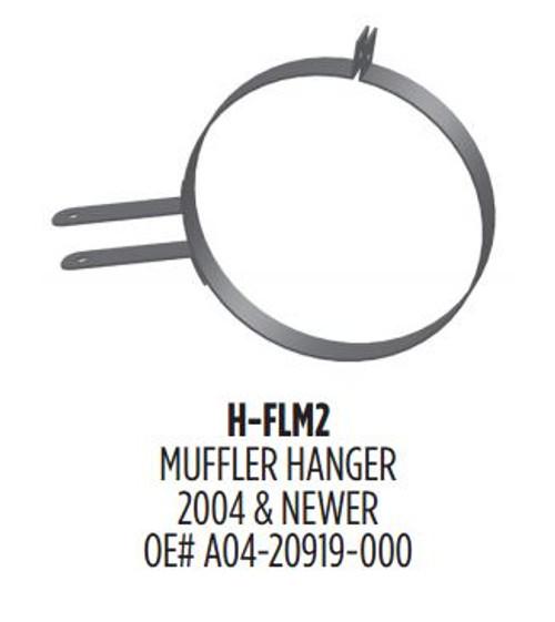 "H-FLM2 11"" HD Muffler Hanger Freightliner"