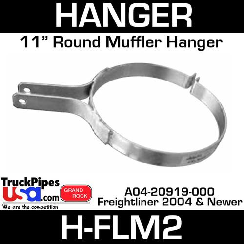"""A04-20919-000 11"""" HD Muffler Hanger Freightliner H-FLM2"""