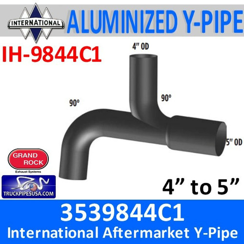 3539844C1 International Truck Exhaust Y-Pipe IH-9844C1