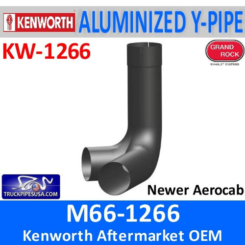 M66-1266 Kenworth Exhaust Y-Pipe for Newer Aerocab